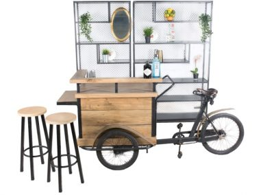 Bakfiets + double steel backbar