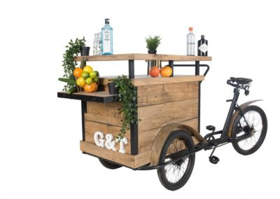 Bakfiets gin & tonic