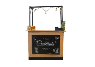 Small vintage bar cocktail